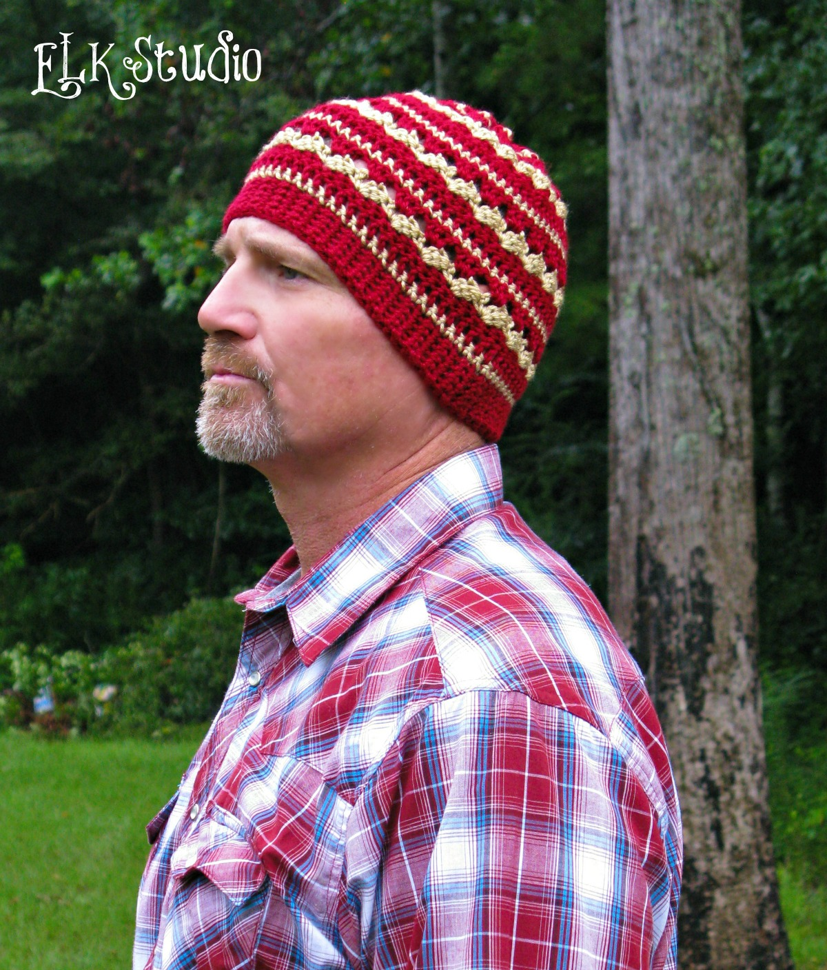 Autumn Dew - A Free Crochet Beanie hat by ELK Studio