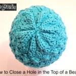 Closing the Hole in a Beanie Designed from the Bottom Up!