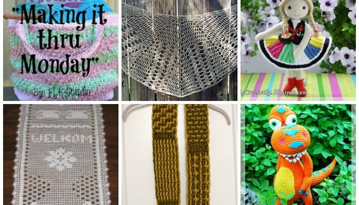 Making it thru Monday Crochet Review #117