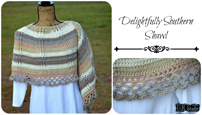 Caron Cakes and Delightfully Southern Shawl