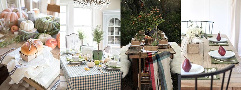 Farmhouse Holiday Tablescape