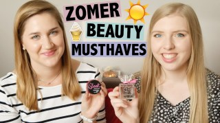 Zomer beauty musthaves