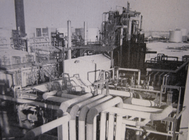 Old Ras Tanura refinery in Saudi Arabia (photo credit: American Heritage Center, University of Wyoming)