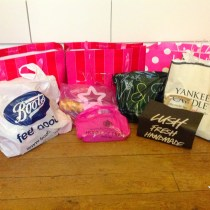 Shopping Angleterre