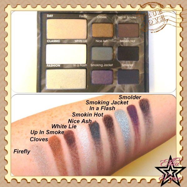 Too Faced - Smokey Eye Swatches