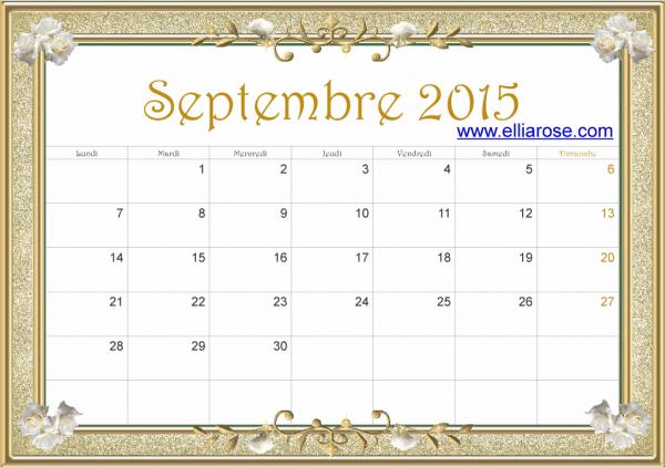 Sept 15 or ER