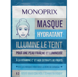 Masque monoprix hydratant