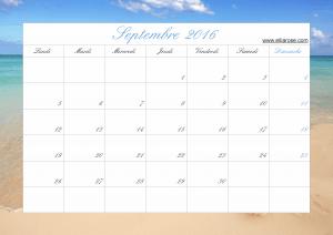 Septembre 2016 plage ER