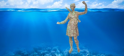 Invisible Museum presents Artemis from the sea