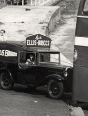 Ellis Briggs team van