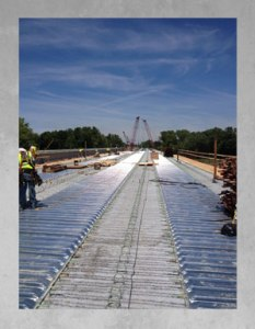 Concrete Bridge Pour
