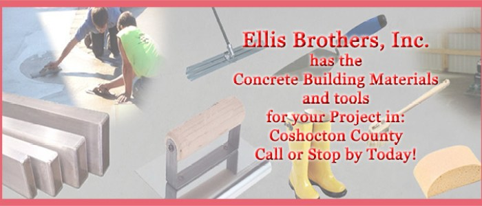 Concrete Building Materials Coshocton County