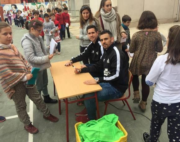 ElPozo al Cole| Bebe y Álex visitan a los escolares del CEIP San Pablo