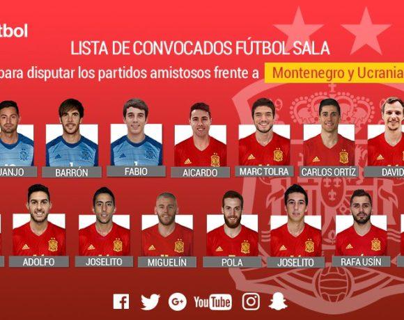 ESPAÑA  Miguelín, Álex, Bebe y Fabio convocados para tres amistosos ante Montenegro y Ucrania