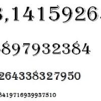 Curiosidades del número pi
