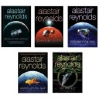 The Revelation Space cycle by Alastair Reynolds