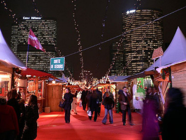 Christmas markets are a great place to eat and people-watch.