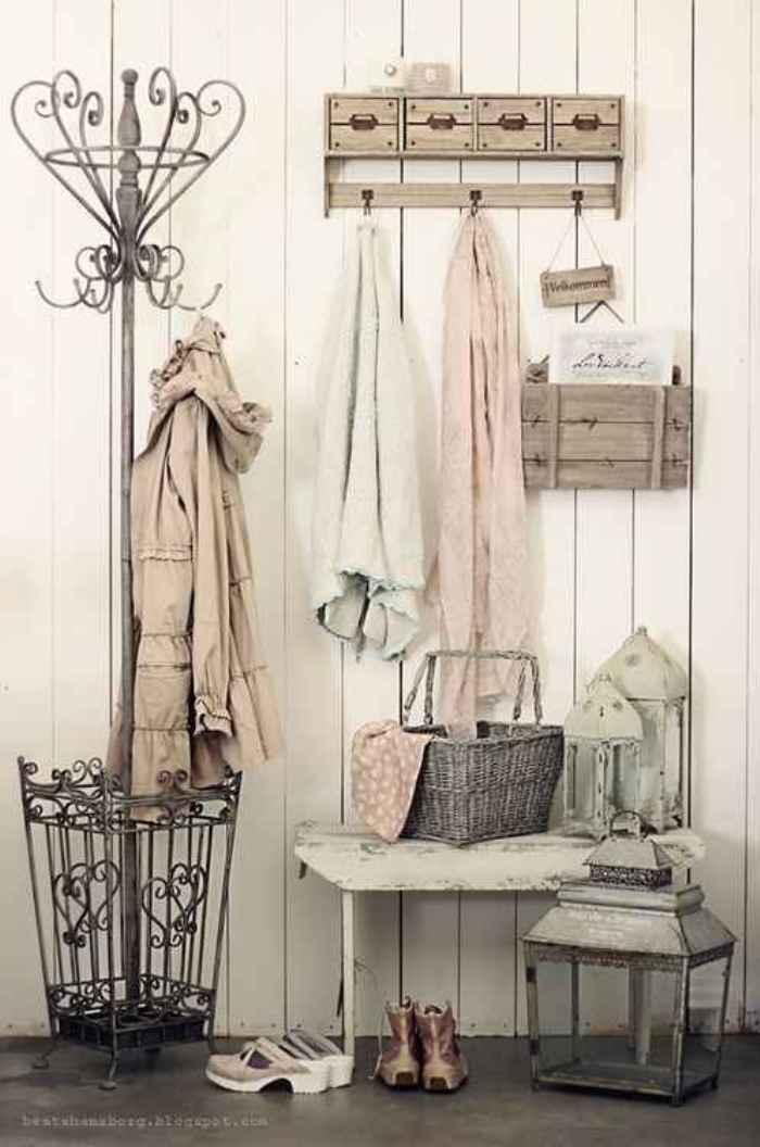 Decora el recibidor decora t hogar el taller de lo antiguo - Perchero recibidor antiguo ...