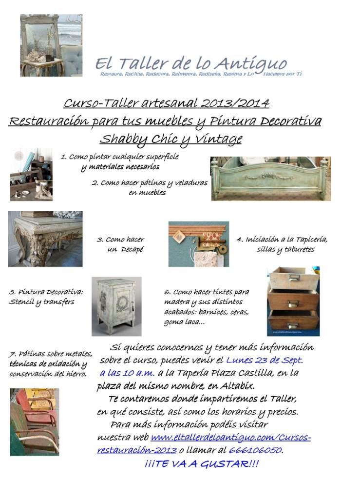 foto cartel cursos 2013