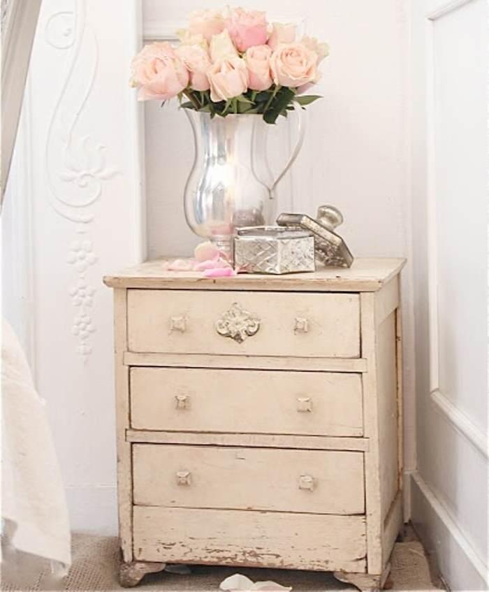 Decoraci n como renovar tus muebles con pintura cap 1 for Muebles envejecidos en blanco