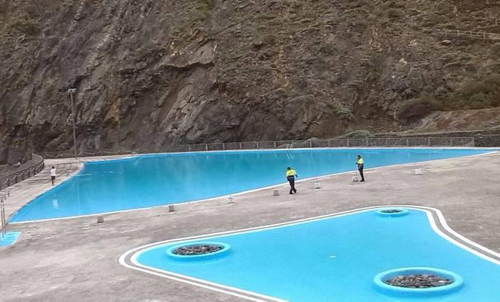 El pp de la gomera se pregunta porqu est n cerradas las piscinas de vallehermoso el - Piscinas en el valle ...