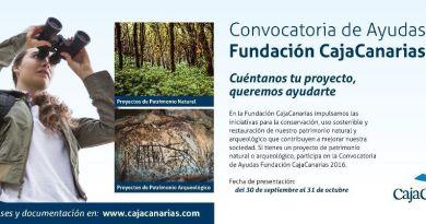 La Fundación CajaCanarias pone en marcha una nueva edición de su Convocatoria de Ayudas a la conservación del Patrimonio Natural y Arqueológico
