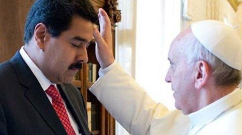 El papa Francisco recibió a Nicolás Maduro en el Vaticano