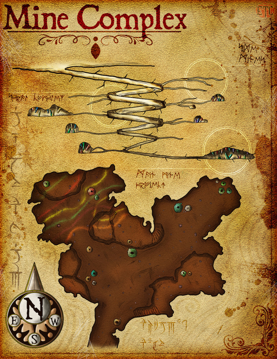 Map 101   Crystal Hunting   Elven Tower Map 101     Crystal Hunting