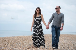 seaside engagement photography brighton seafront