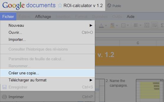 Comment enregistrer le document sur votre compte