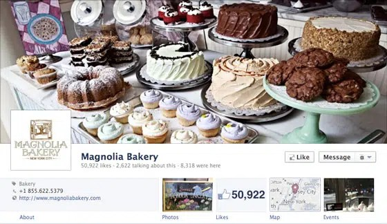 page-facebook-timeline-journal-magnolia-bakery