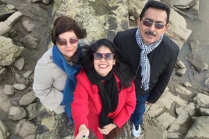 Missão Montevideo com os pais