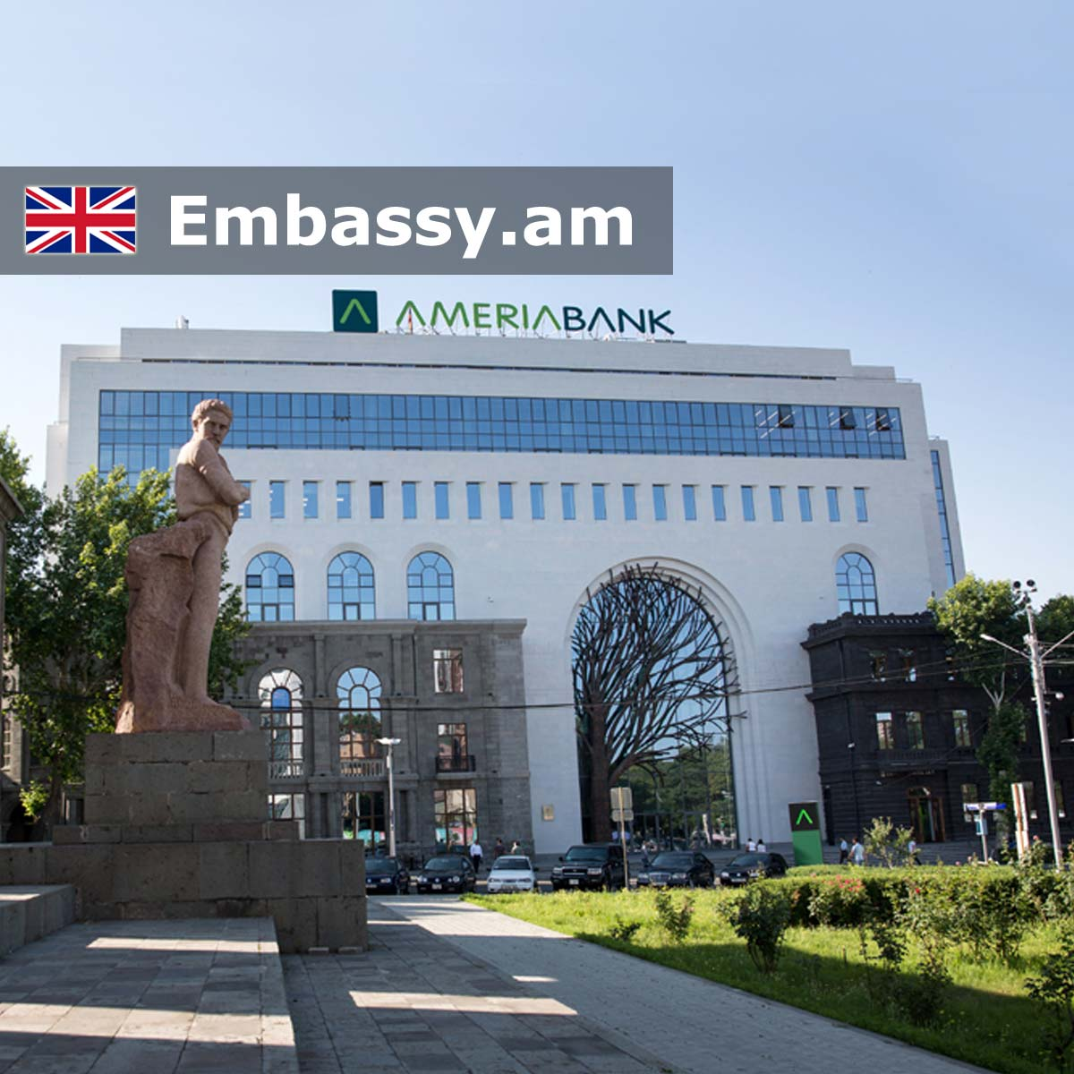 Embassy of the United Kingdom of Great Britain and Northern Ireland     Embassy of the United Kingdom of Great Britain and Northern Ireland in  Armenia