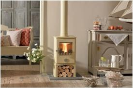 Wood burning stove - SHORT PENGUIN