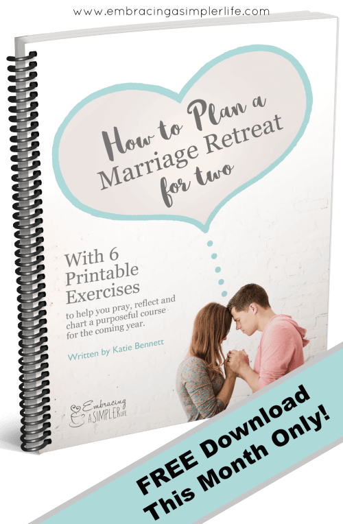 Why we do a yearly marriage retreat for two with a free for How to plan a couples retreat
