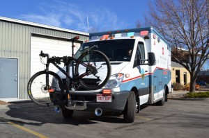 Ambulance Bike Racks