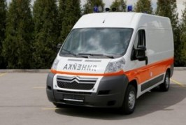 Ambulances in the world: Italy queen of Bulgaria with MAF