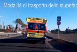 Catania, Italy: drugs trade travel by… ambulances