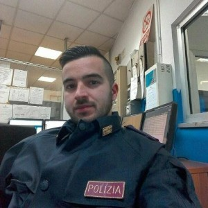 Luca Scatà, the apprentice officer who killed the terrorist in Milan