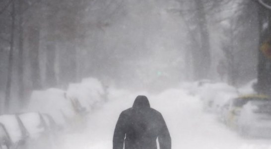 We walk because we care – Nurses walk through the snow for several hours to make their shifts