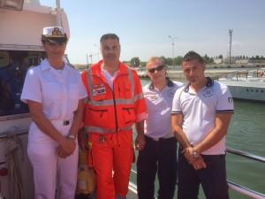 Collaborazione tra Capitaneria di Porto e 118