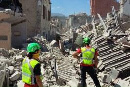 """100 soccorritori e 12 """"nasi"""". Le unità cinofile del CNSAS sul terremoto"""