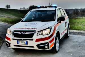 Le nuove Subaru di AREU allestite da Bertazzoni Veicoli Speciali