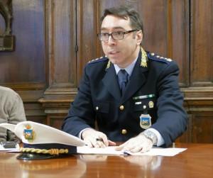 Il Comandante della Polizia Locale di Verona, dott. Luigi Altamura