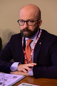 Il responsabile della formazione in Protezione Civile, Roberto Giarola
