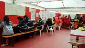 Servizio sanitario alla Maratona di Roma. Centro di controllo coordinato (foto Maratona di Roma)