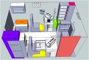 Immagini dall'Ambulance Patient Compartment Human Factors Design Handbook