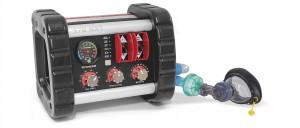 Il ventilatore polmonare NXT 170 di Spencer è invece ideale per un posizionamento in ambulanza sicuro e funzionale