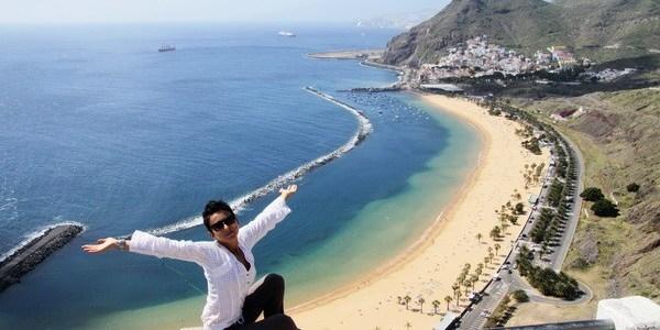 Je pe 1 martie pe Playa Las Teresita