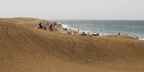 Maspalomas - plaja dintre dune